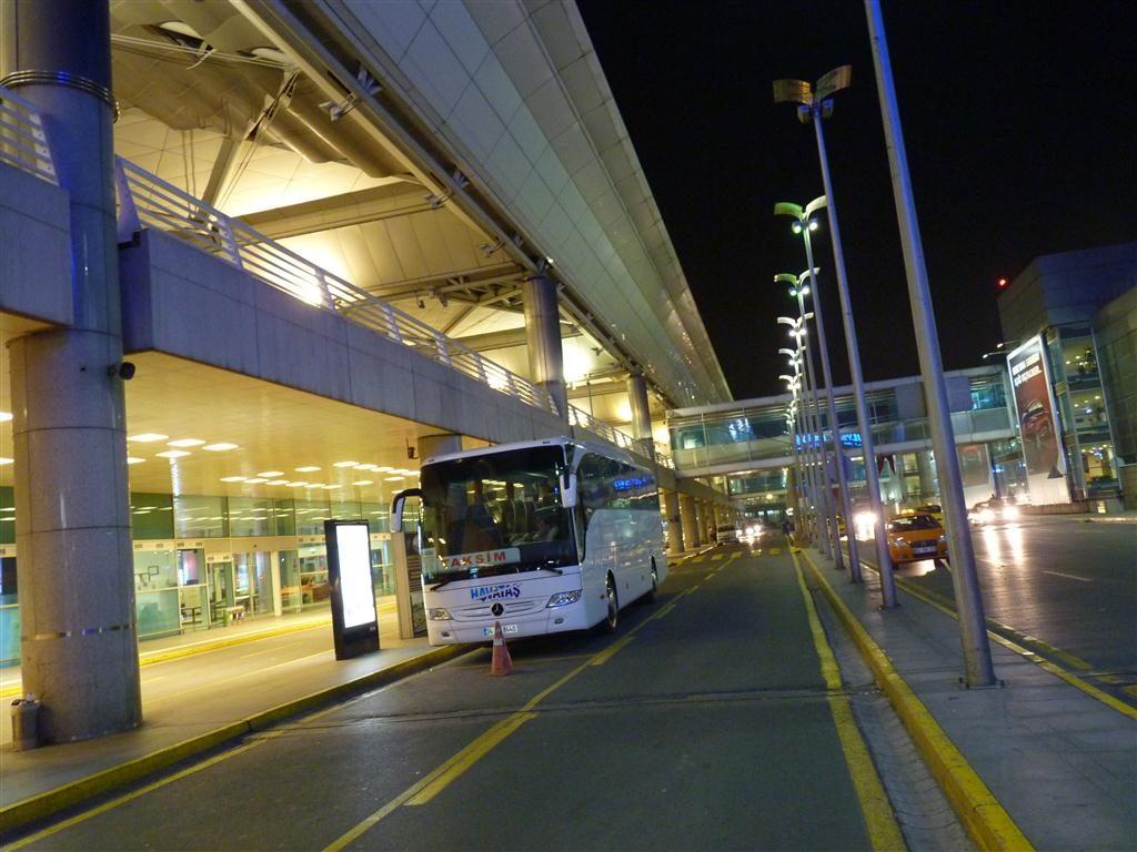 HAVAIST Bus at Istanbul Airport