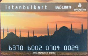 Istanbulkart - Istanbul Public Transport Card