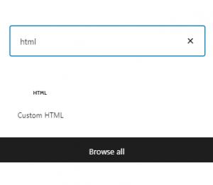 Go to WordPress Editor and add a new block - custom html