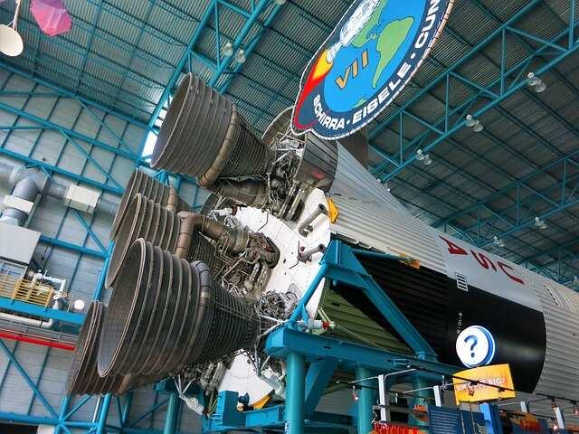 Rocketship - Kennedy Space Center Tour
