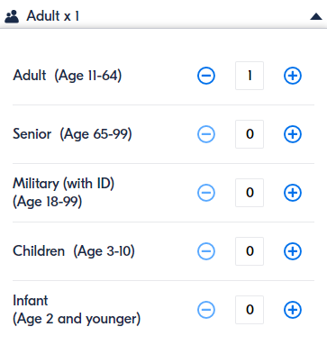 Select number of participants based on their age bracket